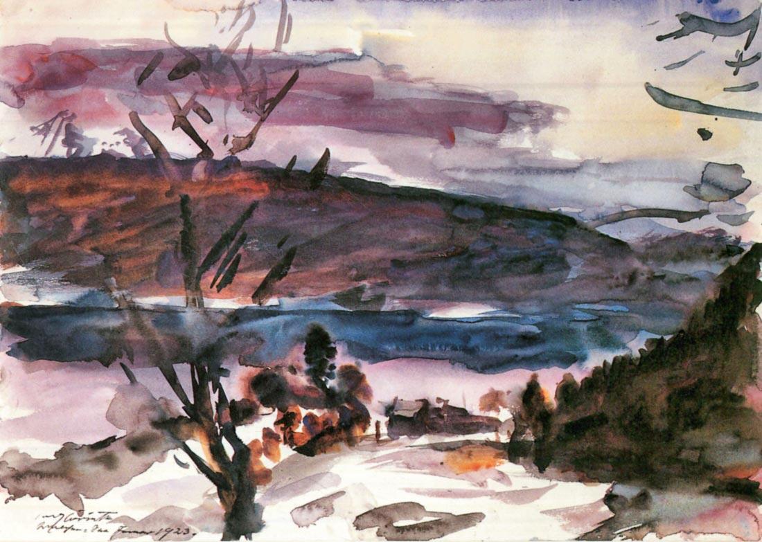 Walchensee [1] - Lovis Corinth